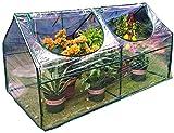 ZWJ J-Invernadero de Jardín Invernaderos jardinería Patio Planta de Tiesto Plantar Flores Transparentes Aislamiento térmico Shed Transpirable, Soporte metálico (Size : 120x60x60cm)