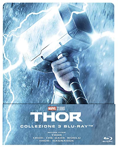 Blu-Ray - Thor Trilogy (3 Blu-Ray) (Steelbook) (1 BLU-RAY)