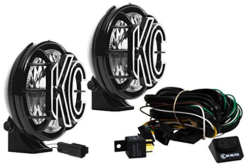 """KC HiLiTES 451 Apollo Pro 5"""" 55w Driving Light with Integrated Stone Guard - Pair Pack System"""
