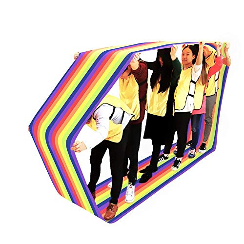 Find Discount decwang Group Run Mat for Kids Teamwork Learning Activity Fun Playing Training Games, ...