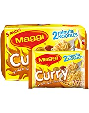 Maggi 2 Minute Noodles Curry 77g (Pack of 5)