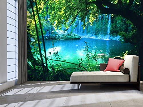 3d waterfall wallpaper _image0