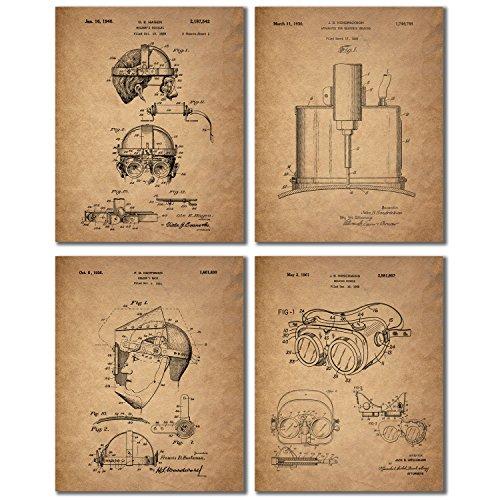 Welder Patent Prints Wall Art