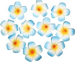 Künstliche Dekorationen Hawaii Beach Frangipani Blume Zubehör zum Hut Plumeria