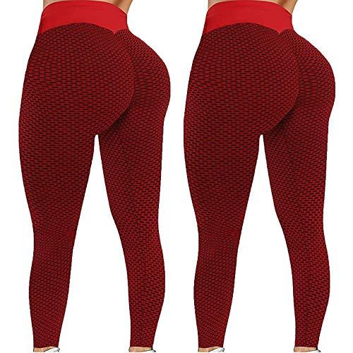 XINGUAN Leggings Damen Sport Tasche Jersey Elegant Yoga Hose Frauen High Waist Stretch Skinny Gummizug Sporthose