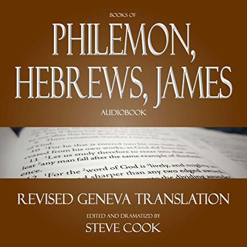 Couverture de Books of Philemon, Hebrews, James Audiobook