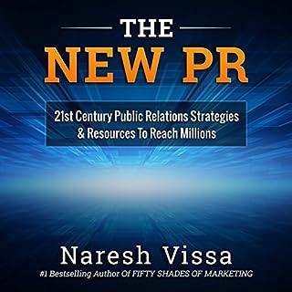 The New PR audiobook cover art