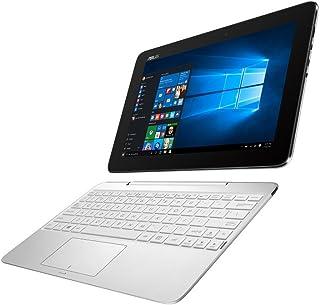 ASUS 2in1 タブレット ノートパソコン TransBook T100HA-WHITE Windows10/10.1インチ/シルクホワイト