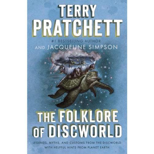 The Folklore of Discworld audiobook cover art