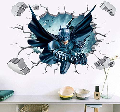 Wandaufkleber Batman Tapete Schlafzimmer Wohnzimmer Flur dekoration