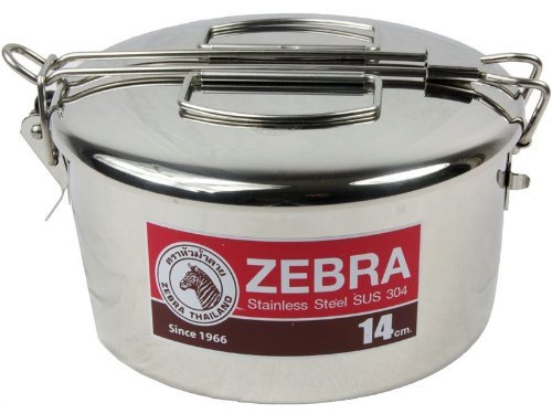 Zebra 14cm Head Billy Can with Handle