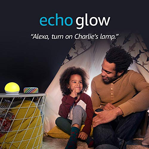 Echo Glow - Multicolor smart lamp for kids - requires compatible Alexa device