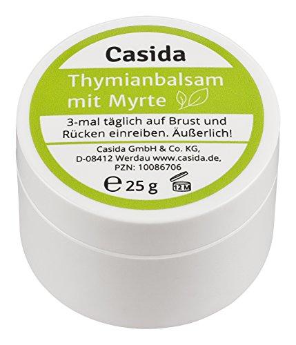 Thymianbalsam mit Myrte für Erwachsene - Bewährte Pflegebalsam mit ätherischen Ölen - 25 g
