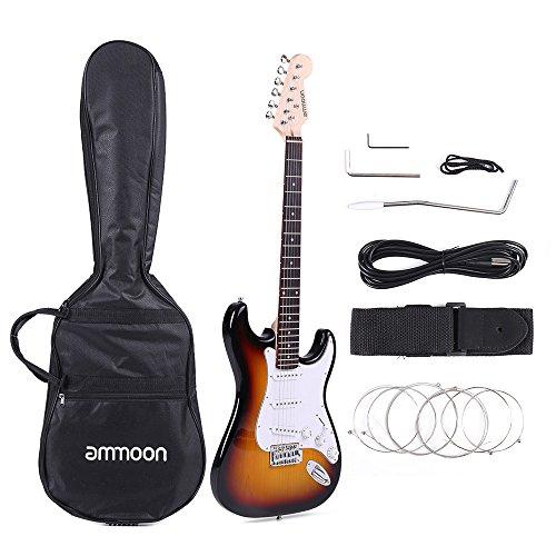 Guitarra Eléctrica Álamo de Madera