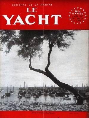YACHT (LE) [No 3458] du 09/04/1955 - POURT DE LA COTINIERE - ILE D'OLERON.