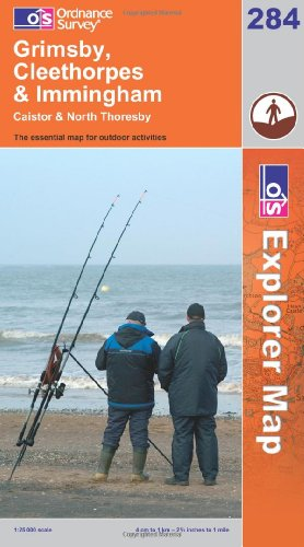 OS Explorer map 284 : Grimsby, Cleethorpes & Immingham