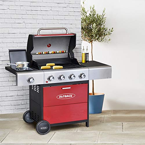 Outback Meteor 4 Burner Gas Barbecue