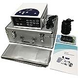 Zinger Ionic Foot Bath Detox Machine System, Chi Aqua Ionic Ion Foot Detox Bath Cleanse Machine with 1 Far Infrared+ 1 Detox Arrays+1 Wrist Strap+1 Power Cord+ Waist Belt+1 Travel Case