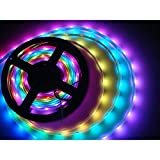 Dream Color LED Strip Lights RGBIC, Sumaote 16.4ft Waterproof WiFi LED Light Strip with Ch...