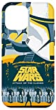 iPhone 12 Pro Max Star Wars Attack of the Clones Illustrated Movie Poster Case