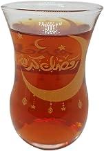 Ramadan cups decorated with the words of Ramadan Kareem