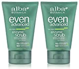 Alba Botanica Alba Organics Facial Scrub Sea Algae Enzyme, 4 Oz (Pack of 2)