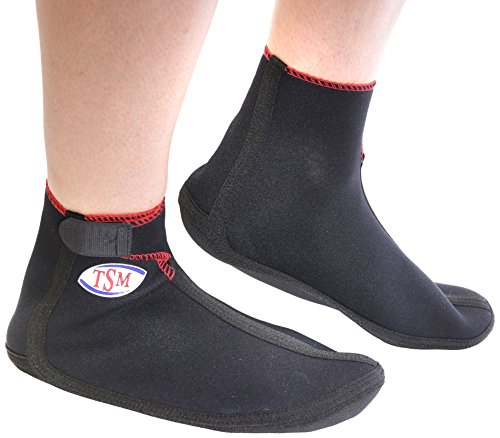 TSM 88 2104 Bandage de sport Chaussettes de plage actif Noir Taille XL