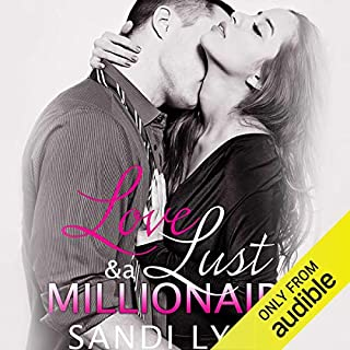 Love, Lust and a Millionaire audiobook cover art