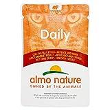almo nature Daily - Pato y Pollo para Gatos, 70 g