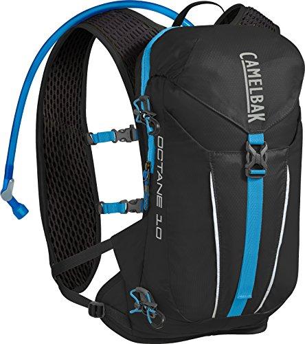 CamelBak Octane 10 70 oz Hydration Pack, Black/Atomic Blue