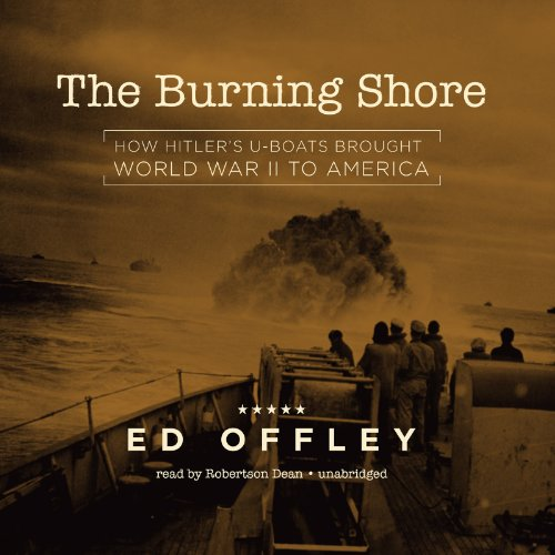 The Burning Shore copertina