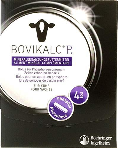 Bovikalc® P. - Phosphorbolus mit Monokalziumphosphat - 4 Boli á 195 Gramm