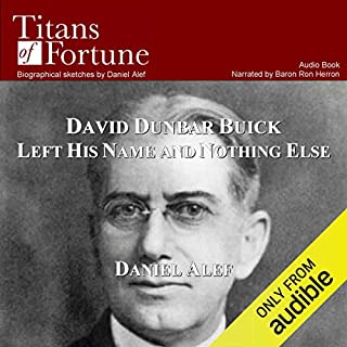 David Dunbar Buick Left His Name and Nothing Else audiobook cover art