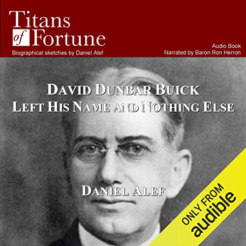 David Dunbar Buick Left His Name and Nothing Else copertina