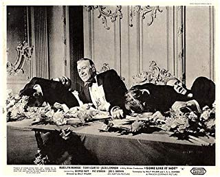 Some Like IT HOT Original British Lobby Card George RAFT 1959