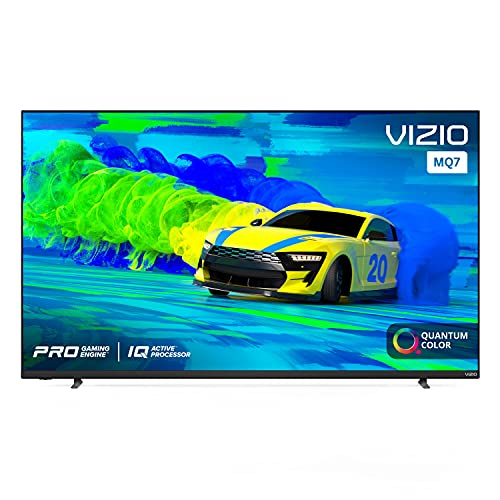 VIZIO 55-Inch M-Series 4K UHD Quantum LED HDR Smart TV with Apple AirPlay 2 and Chromecast Built-in, Dolby Vision, HDR10+, HDMI 2.1, Variable Refresh Rate with AMD FreeSync, M55Q7-J01, 2021 Model