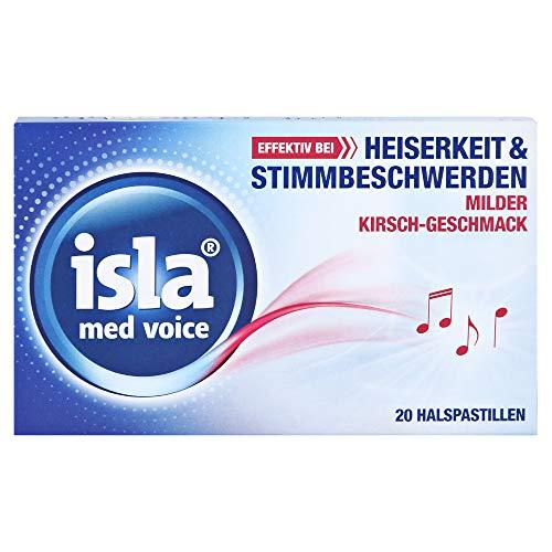 isla med voice milde Kirsche Halspastillen, 20 St. Pastillen