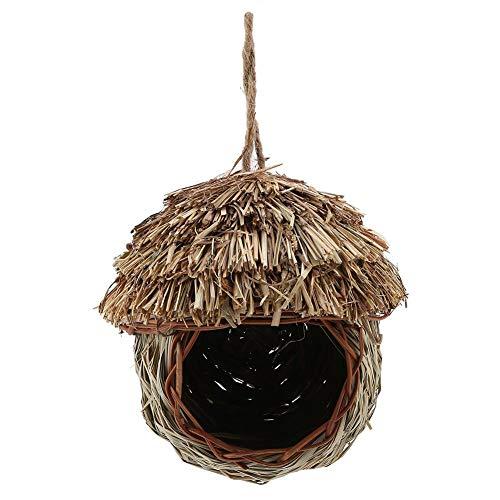 Bird Home - Gezellige rustplaats voor vogels - Biedt bescherming tegen de kou - Vogelschuilplaats tegen roofdieren - Handgeweven - 100% natuurlijke vezels - ideaal voor jou Mooie vogels