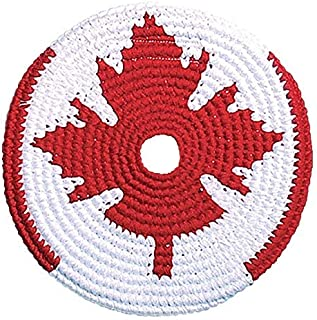 Pocket Disc Flying Disc Flag Edition - Crocheted Foldable Frisbee Toy Perfect for Both Kids and Adults - Supports Guatemalan Fair Trade