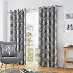 A beautifully drawn silhouette tree motif adds a touch of sophistication to this matching cushion and curtains set. Fusion offers an affordable collection of fashion bed linen, cushions and curtains will brighten up any room at prices which will suit...