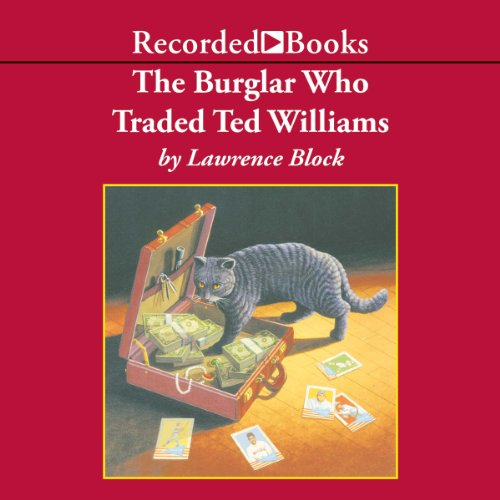 The Burglar Who Traded Ted Williams audiobook cover art