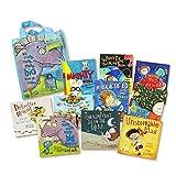 GonFan Los Libros para niños Libro de Cuentos for niños ilustrado Caja de Regalo de 10 Padres e Hijos la Lectura de Cuentos en inglés Picture Books (Color : Multi-Colored, Size : 30x26x5.3cm)
