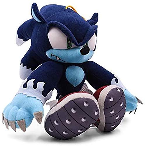 Ggwdta Stuffed Toys Sonic Werehog Mollusc Doll Cartoon Animal Plush Children's Toy