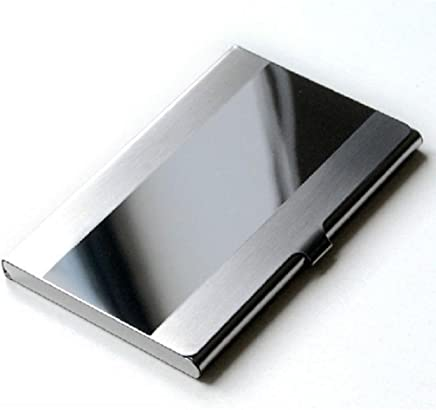Edelstahl Silber Aluminium Business ID Kredit Karte Halter Schutzh�lle : B�cher