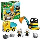 LEGO10931DuploTownCamiónyExcavadoraconOrugasJuguetedeConstrucción