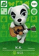 Nintendo Animal Crossing Happy Home Designer Amiibo Card K.K. Slider 101/200 USA Version by Nintendo