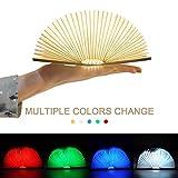 LED Buch lampe,LED Stimmungslicht mit 700 mAh Akku Lithium Nachttischlampe,Schreibtisch Lampe ideal...