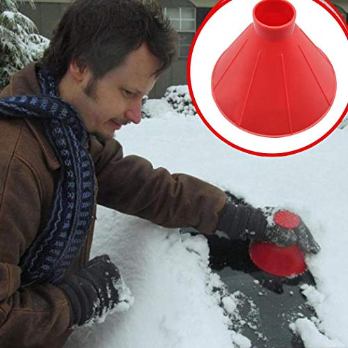 For Sale! Youandmes Magic Ice Scraper - Car Windshield Snow Removal Wiper - Snow Removal Funnel Tool...