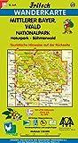Fritsch Karten, Nr.60, Mittlerer Bayerischer Wald, Böhmerwald (Fritsch Wanderkarten 1:50000)