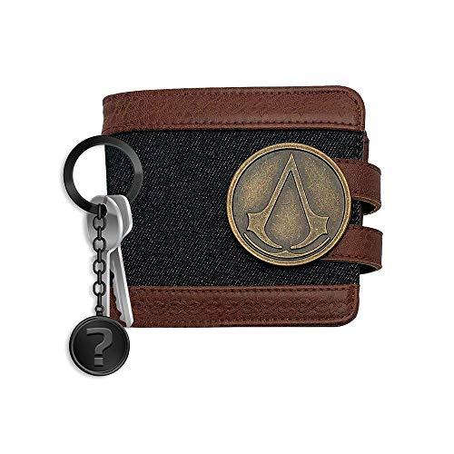 yvolve Assassins Creed - Crest - Geldbörse | SET inkl. Schlüsselanhänger